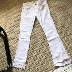 Current Elliot flip flop jeans in the shade sugar